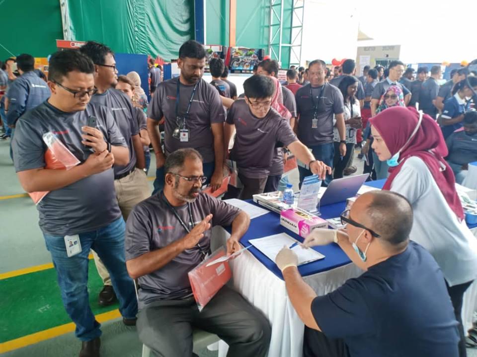 Aker Solutions Malaysia PKFZ Health Awareness